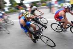 Triathlon 2008 do mundo Fotografia de Stock