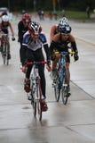 Triathlon 2011 de championnat d'Ironkids USA Image libre de droits