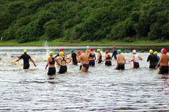 triathlon Royaltyfria Bilder