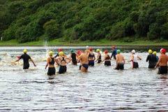 Triathlon Royalty-vrije Stock Afbeeldingen