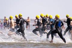 Triathlon Στοκ Φωτογραφία