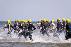 Triathlon Stockfoto