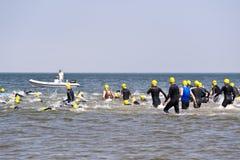 Triathlon Στοκ εικόνα με δικαίωμα ελεύθερης χρήσης