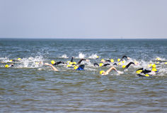 Triathlon Στοκ Εικόνα