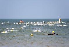Triathlon Στοκ φωτογραφία με δικαίωμα ελεύθερης χρήσης