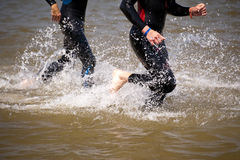 Triathlon Images libres de droits