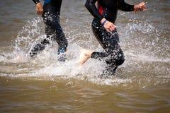 Triathlon Immagini Stock Libere da Diritti