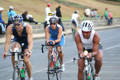 Triathlon Stockfotos