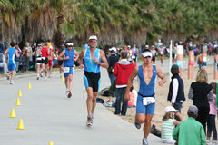 Triathlon Photo libre de droits