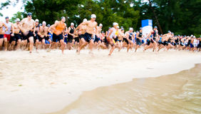 Triathlon Fotografia de Stock Royalty Free