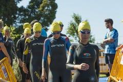 triathlon Zdjęcia Royalty Free