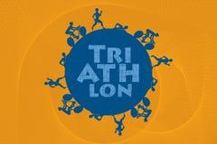 triathlon illustration libre de droits