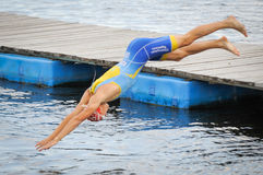 triathlon Fotografie Stock Libere da Diritti