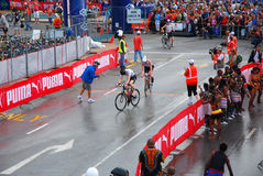 Triathlon Afrique du Sud 2008 d'Ironman Images libres de droits