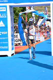 Triathlon Alpe d'Huez 2009 Royalty Free Stock Image