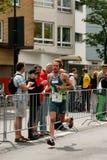 Triathlon athlete Stock Photo