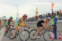 Triathlon athlete Royalty Free Stock Photo
