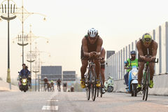 Triathlon bike Stock Images