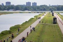 Triathlon blisko Rotterdam Obrazy Stock