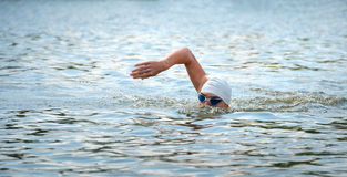 Triathlon Cup of Ukraine and Cup of Bila Tserkva. July 24, 2016 Stock Images