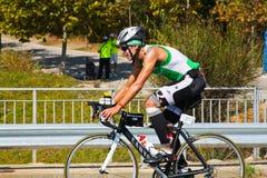 TRIATHLON CYCLING Royalty Free Stock Photo