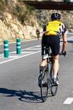 TRIATHLON CYCLING Stock Image
