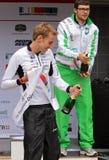 Triathlon Düsseldorf Royalty-vrije Stock Afbeelding