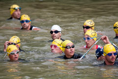 Triathlon d'Auch, 2010 Images libres de droits