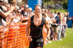 Triathlon d'Heidelberg photo stock