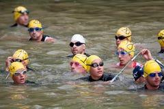 Triathlon de Auch, 2010 Imagens de Stock Royalty Free