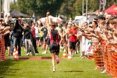 Triathlon de Heidelberg Fotografia de Stock Royalty Free