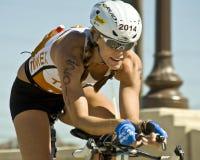 Triathlon de Phoenix Ironman Fotos de Stock Royalty Free