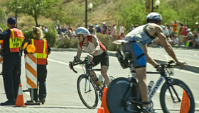 Triathlon de Phoenix Ironman Images stock