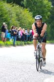 Triathlon de recyclage de sport Image stock