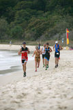 Triathlon de salut de Straddie Image libre de droits