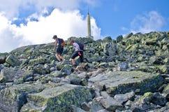 Triathlon de Xtreme de Norseman Images libres de droits