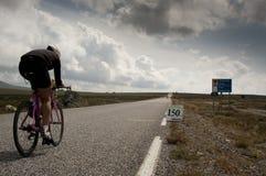Triathlon de Xtreme del Norseman Foto de archivo