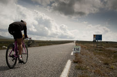 Triathlon di Xtreme del Norseman Fotografia Stock