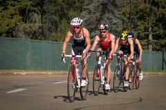 Triathlon Edmonton del mondo del ITU Fotografie Stock Libere da Diritti