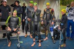 Triathlon Edmonton del mondo del ITU Fotografia Stock Libera da Diritti