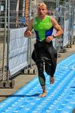 Triathlon Genewa, Szwajcaria Fotografia Stock