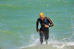 Triathlon Genewa, Szwajcaria Zdjęcie Stock