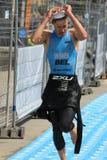 Triathlon Ginebra, Suiza imagen de archivo libre de regalías