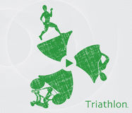 Triathlon. Stock Photo