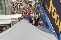 Triathlon Hambourg du monde d'UIT Images libres de droits