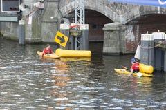 Triathlon Hambourg du monde d'UIT Photographie stock