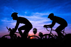 Triathlon i Thailand Arkivbild