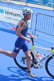 Triathlon internacional 2012, Genebra, Switzerland Imagem de Stock Royalty Free