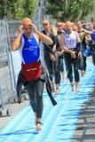 Triathlon international 2011, Genève, Suisse Images stock