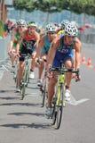 Triathlon international 2012, Genève, Suisse image stock